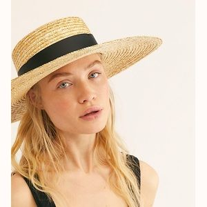 Palomino Straw Boater one size